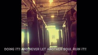 Chiddy Bang's: Dream Chasin ( Lyrics On Screen ) Motivational Boxing Workout Video.