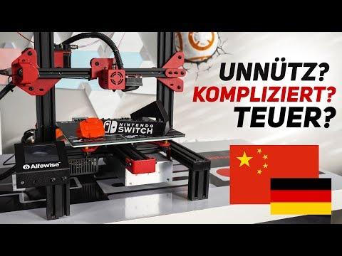 3D Drucker - UNNÜTZ? KOMPLIZIERT & TEUER?! (Alfawise U30)