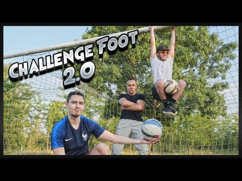 CHALLENGE FOOT 2.0 AVEC JOFF ET THEO