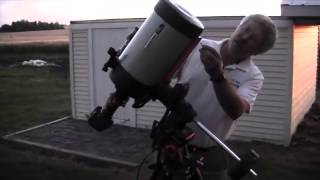 """AstroPhotography with Celestron Edge HD 8"""" - Part 1/4"""