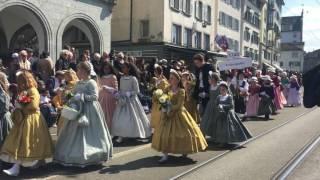 Kanton Glarus Am Sechseläuten In Zürich Am Kinderumzug 2017 Teil 1
