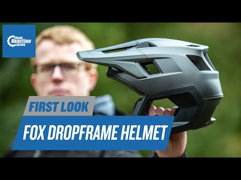 Fox Dropframe Helmet | First Look | CRC |