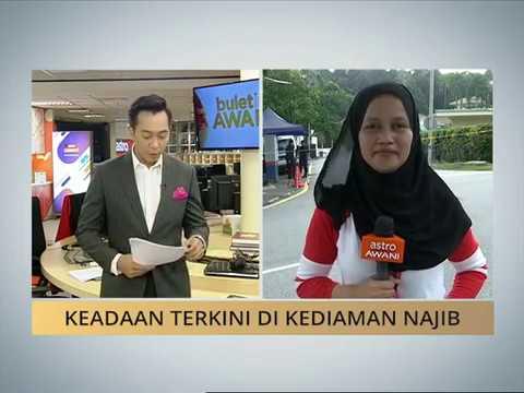 Keadaan terkini di kediaman Najib