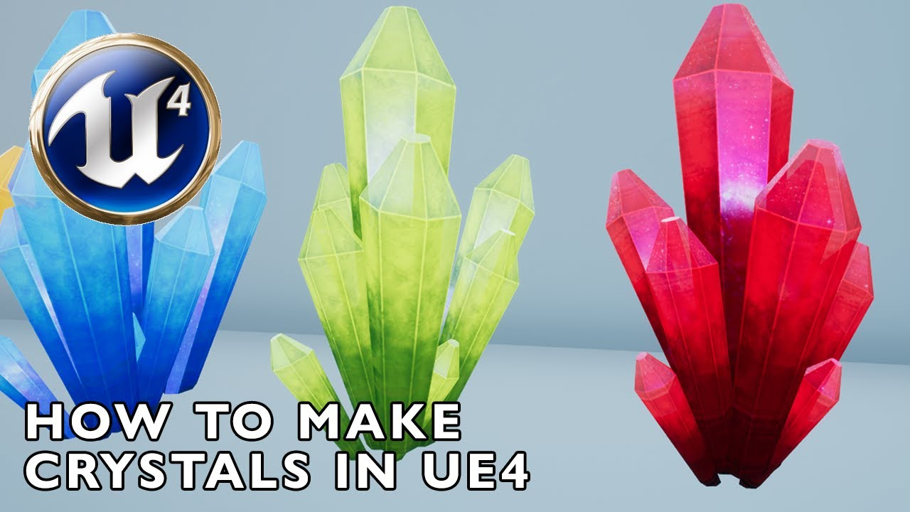 [TUTORIAL] How to Make Crystals in Unreal Engine 4