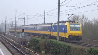Passenger Trains In Amsterdam, Netherlands 2017 (Nederlandse Spoorwegen)