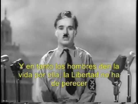 Charles Chaplin: Un Discurso Que Aún Sigue Siendo válido