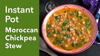 Instant Pot Moroccan Chickpea Stew