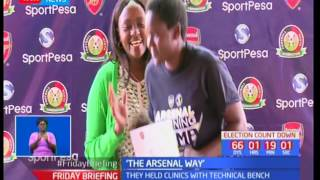 The 3rd Sportpesa Arsenal training camp ends today