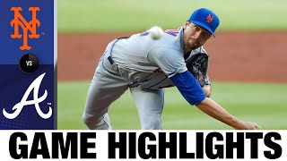 deGrom strikes out 10 in win vs. Braves | Mets-Braves Game Highlights 8/3/20