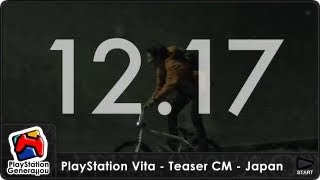 PlayStation Vita -  Teaser CM - Spot TV Japan