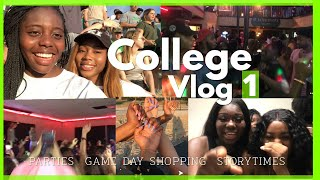 COLLEGE MOVE IN , FOOTBALL GAME , PARTIES AND MORE  │ UNT VLOG │Lifeofcess .