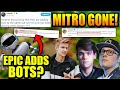 Mitr0 KICKED By Mongraal.. Symfuhny & Chap Are GODS! FORTNITE ADDS BOTS?!?!