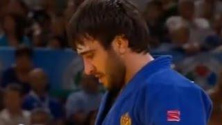 JUDO 2011 World Championships: Mansur Isaev (RUS) - Rinat Ibragimov (KAZ)