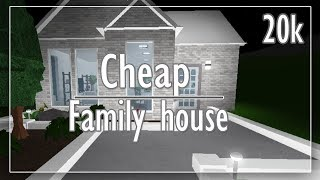 bloxburg 20k story roblox build gamepass modern gamepasses cheap houses game passes evhall ii