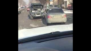 ДТП по Брусиловского, Алматы