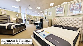 RAYMOUR AND FLANIGAN BEDROOM SETS 2021 FURNITURE SHOP WITH ME