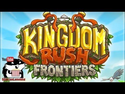 Финальная битва Kingdom Rush Frontiers с Сибирским Леммингом [бесплатная флешка]