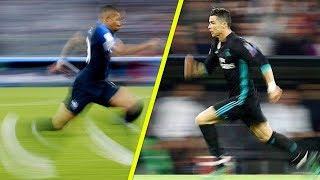 Mbappé Çok Hızlı ama ... Ronaldo'yu Kimse Durduramıyor..