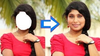 how to change / replace face in adobe Photoshop cs5 cs4 cs6 cs3 7.0 and all