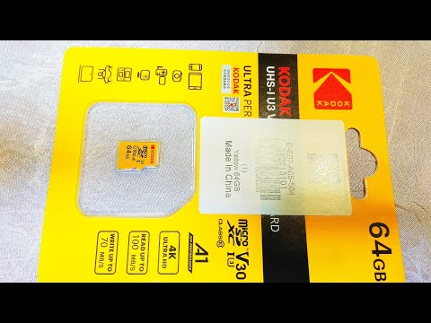 Карта памяти Kodak Micro SD 64 Gb / Kodak Micro SD 64 Gb Memory Card