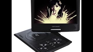 """DB Power  9.8"""" portable DVD player / TV, cheap from ebay china."""