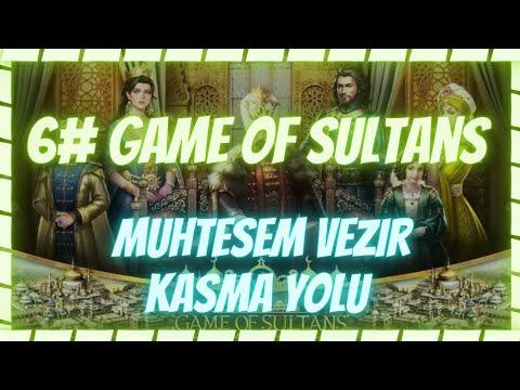 """Game Of Sultans Bedava ya En GÜÇLÜ VEZİR KASMA (455 K CAN) TAKTİK AÇIKLAMA KISMINDA """"Muhteşem""""🔴⬇️⬇️"""
