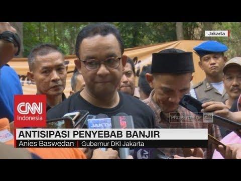 Anies Baswedan Bicara Soal Antisipasi Penyebab Banjir di Jakarta