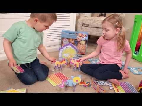 early stART Make & Play - Barnyard