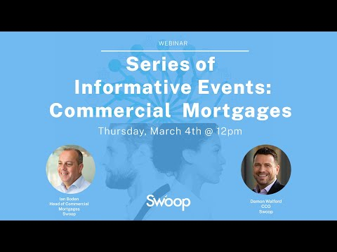 Webinar recording: Series of Informative Events: Commercial Mortgages