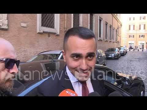 """Mes, Di Maio: """"Riunione è andata bene, ho visto il gruppo compatto"""""""