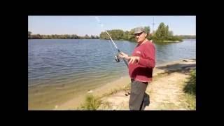 Смотреть онлайн Весенняя ловля сома спиннингом на реке