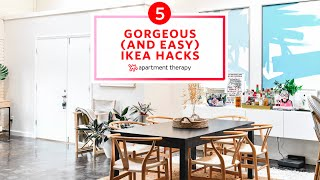 5 Gorgeous (And Easy) Ikea Hacks | Apartment Therapy