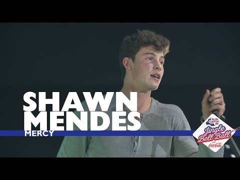Shawn Mendes - 'Mercy' (Live At Capital's Jingle Bell Ball 2016)
