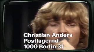 Christian Anders - Denn ich liebe dich so sehr 1977