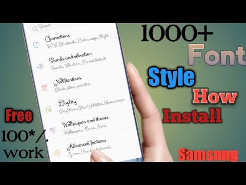 Download Samsung Unlimited Oreo Stylish Fonts Any Samsung Device Or