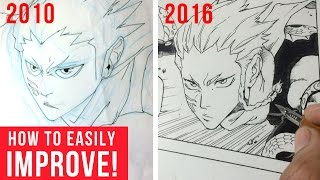 How To Improve Your Drawing Skills: My Art Before And After
