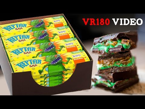 Making FIFTY Reptar Bars in VR 180!