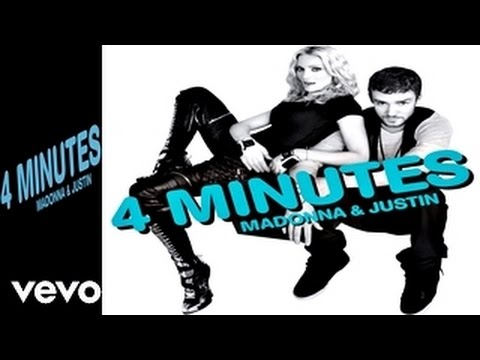 MADONNA - 4 Minutes (Album Version) (Official Audio Video HQ) Ft. Justin Timberlake, Timbaland
