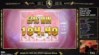 RAZORSHARK BIG WIN SAVES THE BONUS HUNT // Euky - Slots, Casino