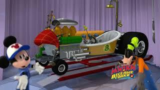 Disney Микки и Весёлые гонки -Музыкальные видео!-выпуск3-Автомастерская Микки|Мультфильм про машинки