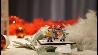 Oggy and the cockroaches  🎁 Toys Stop Motion Animation 🎄FAN MADE🎄