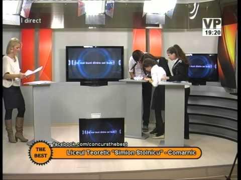"Preselecții The Best – 20 octombrie 2014 (II) – Liceul ""Simion Stolnicu"" Comarnic"
