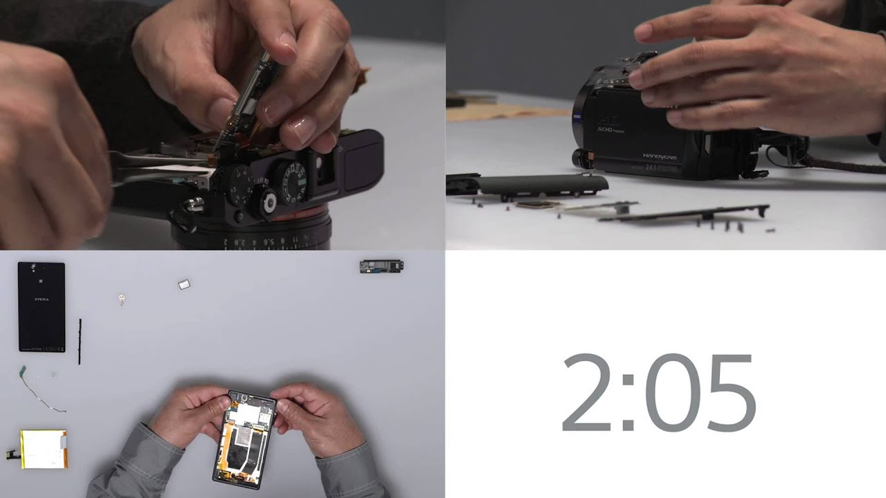 A Deep Look Inside Sony's Hottest New Gadgets