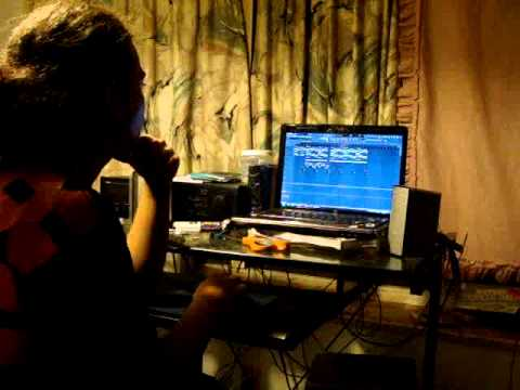 Young J.c. Baby Recording Beat In Studio {Mind-Free Entertainment}