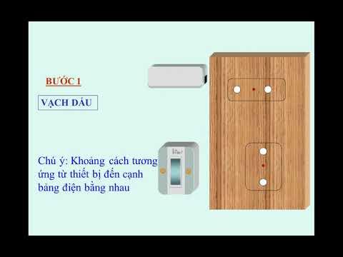 Công nghệ 9: Tiết 23 Thực hành lắp mạch điện hai công tắc ba cực điều khiển một đèn  (Tiếp theo)