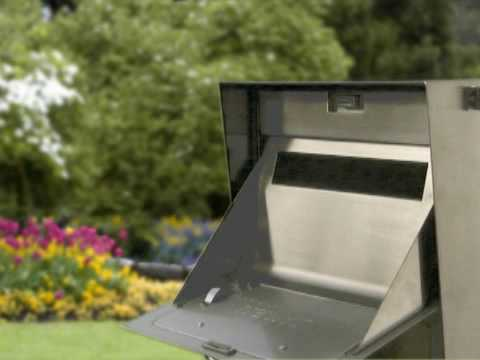 MailCase Stainless Steel Mailbox