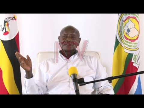 COVID-19: Museveni alabudde abatabula eddagala ly'ekinnansi