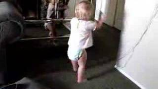 Baby Dances To Anthony Hamilton at 17 Months Old, SKILLS