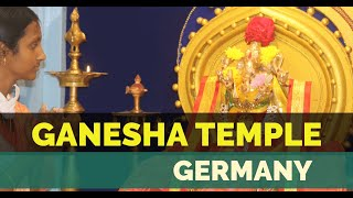 LORD GANESHA TEMPLE - South Indian HINDU TEMPLE IN GERMANY 🇩🇪 TEMPLE SERIES  IMAGES, GIF, ANIMATED GIF, WALLPAPER, STICKER FOR WHATSAPP & FACEBOOK