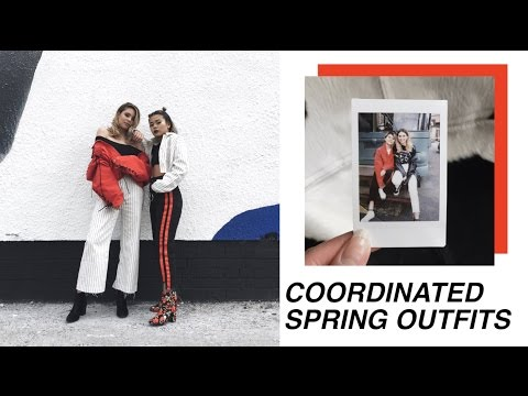 Coordinated Spring Outfits